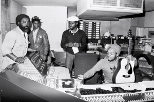Steel Pulse recording 1st Album
